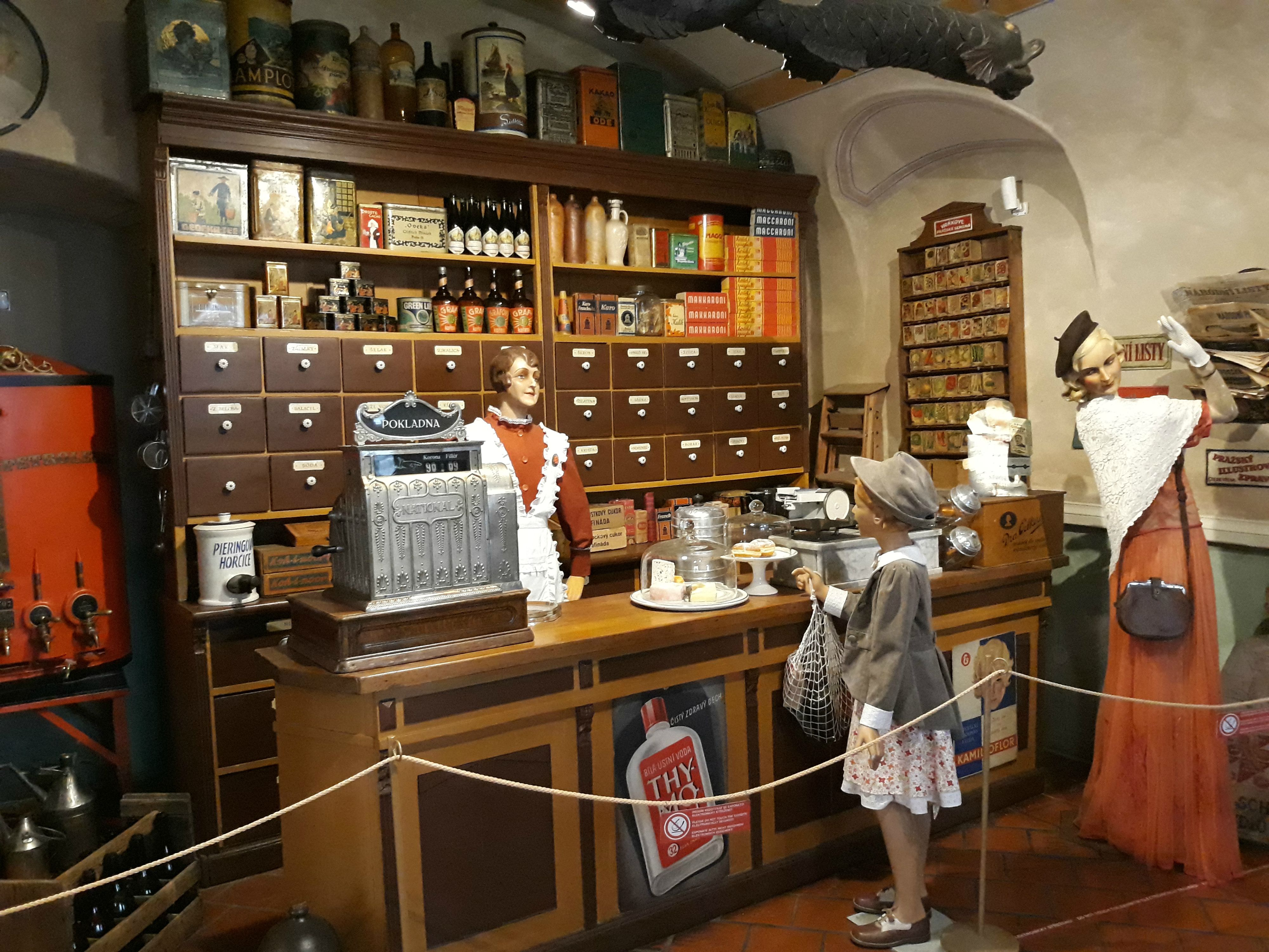 Český Krumlov: Múzeum obchodu v Krumlove