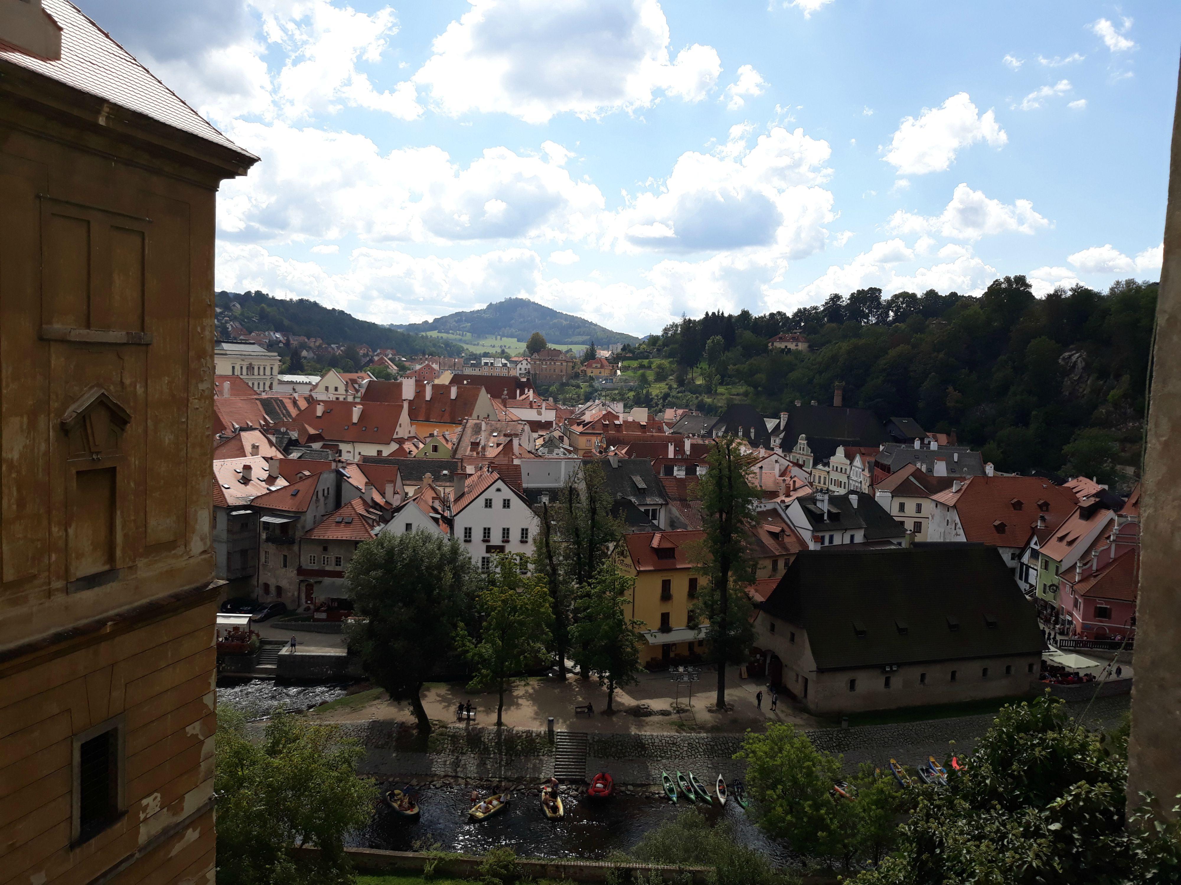 Český Krumlov: Neskutočný výhľad z hradu