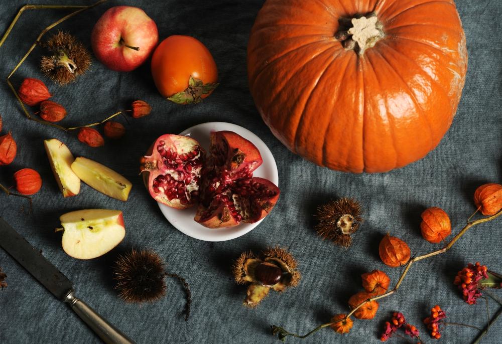 jesenné jedlo