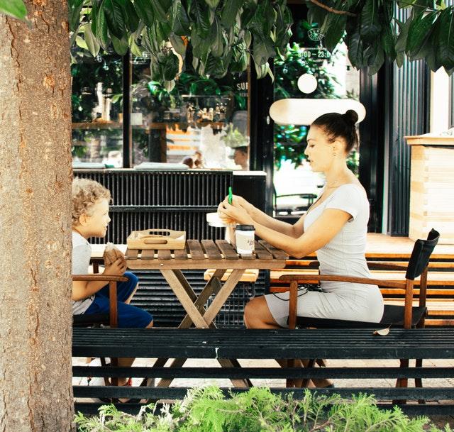deti v reštaurácii