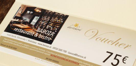 Bistro Baroza darčeková poukážka