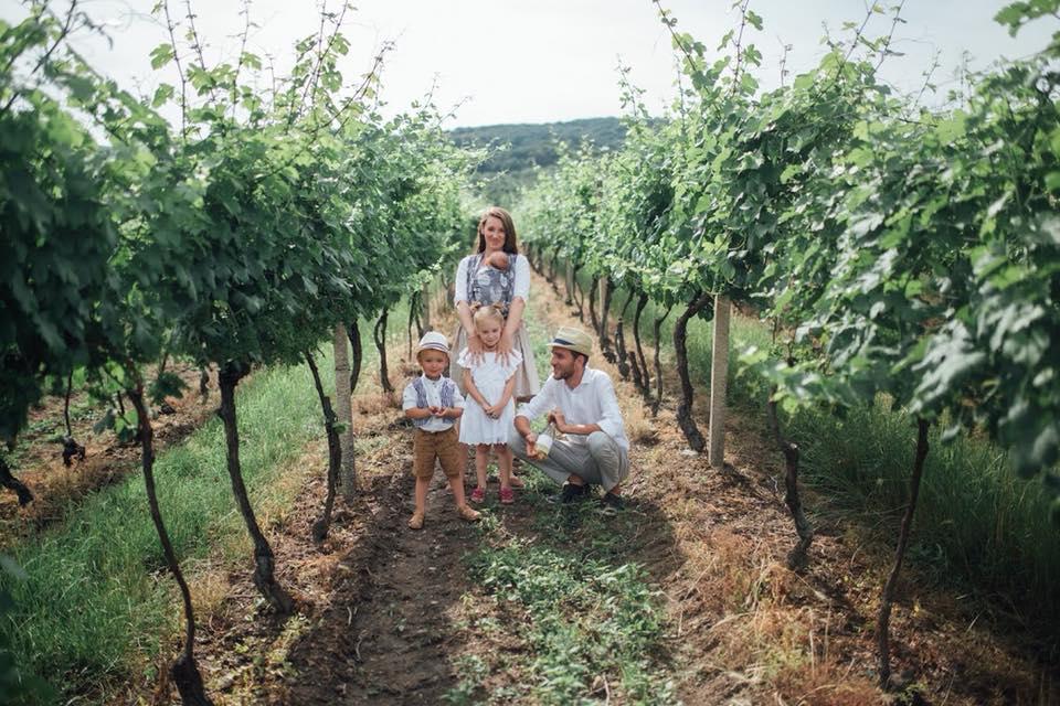 Ria Zelisková: Rodina Rie Zeliskovej žije v súlade s prírodou, foto: archív R. Z.