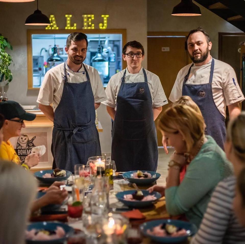 ALEJ Bojnice: Návštevníci majú kontakt priamo s kuchármi, zdroj: FB ALEJ Bojnice
