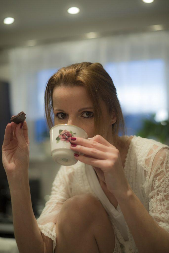Jardi's Chocolate: Monika si čokoládu dokáže vždy vychutnať foto: archív M.K.