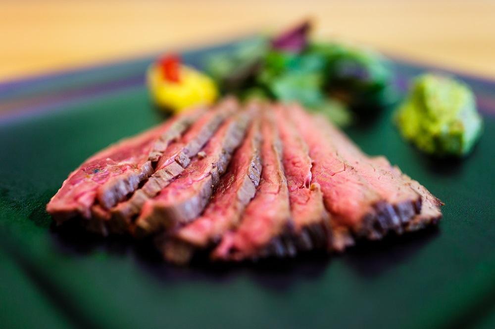 Juraj Struhár: Aj na takýto flank steak sa môžu tešiť návštevníci Pikniku v meste, foto: archív J. S.