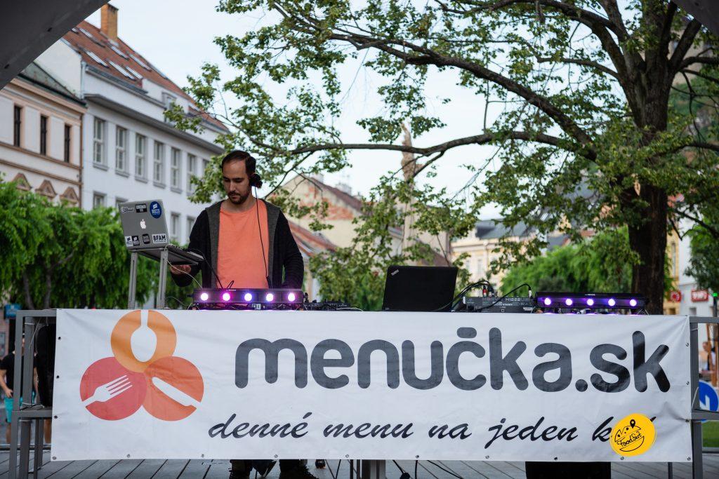 Food Fest Milan Lieskovský DJ menucka trencin