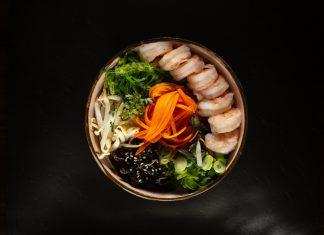 Poke Bowl Tatami Sushi Nitra krevety