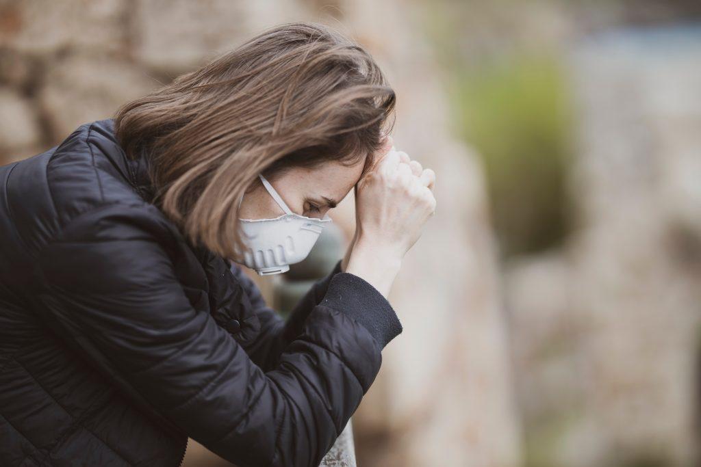 žena s depresiou