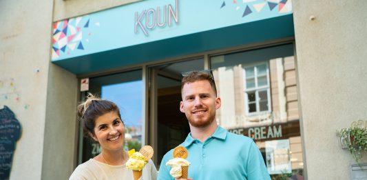 Koun a ich kolagénová zmrzlina